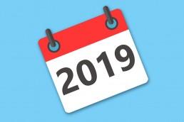 Arbetsgivaravgifter månadsvis 2019 Kalenderbild uai