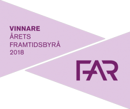 Årets tillväxtbyrå 2019 FAR FRAMTIDSBYRÅ2018 310px uai