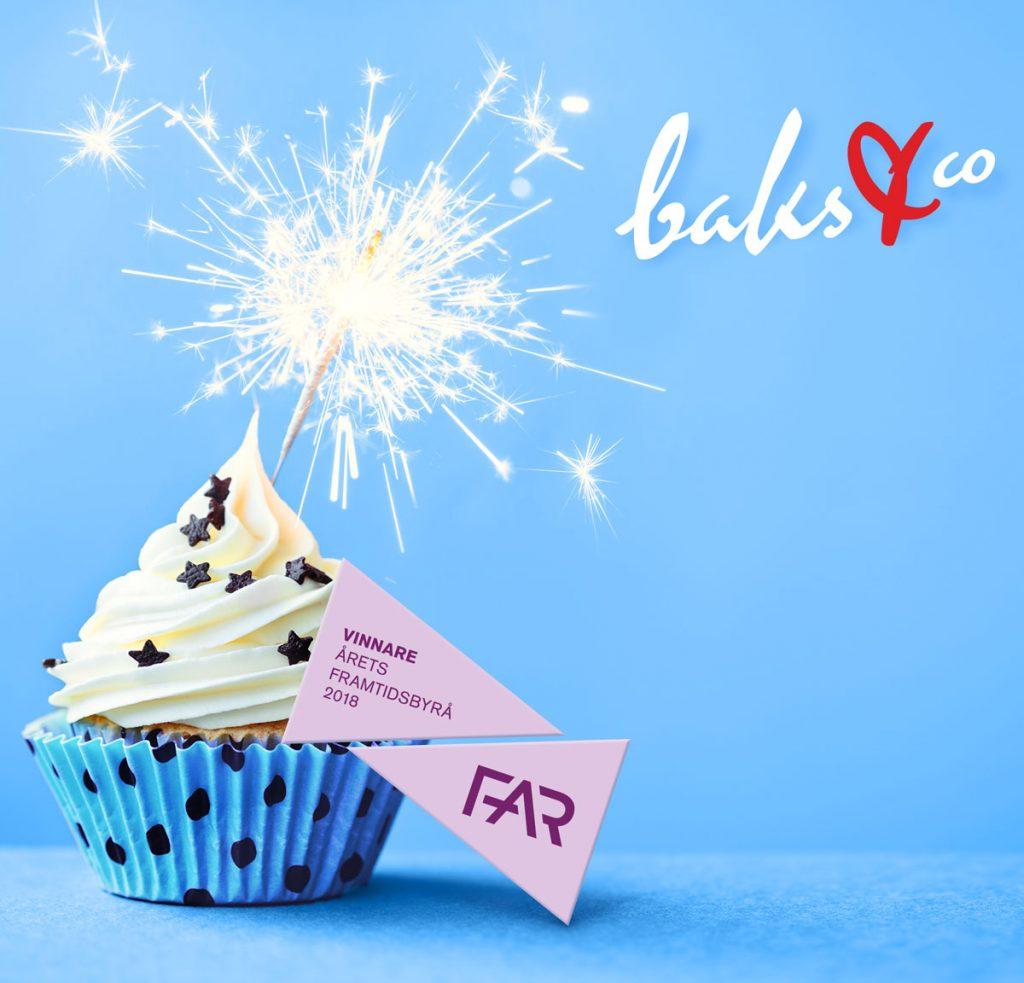 baks & co är Årets framtidsbyrå 2018 cupcake topbild 2